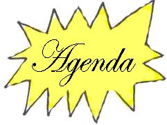 AGENDA DE ACTIVIDADES HASTA FINALES DE ENERO